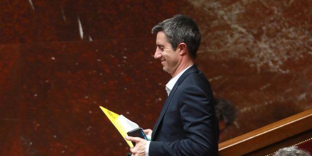 François Ruffin à l'Assemblée nationale le 19 février