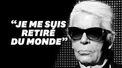 Karl Lagerfeld ne voulait pas laisser de