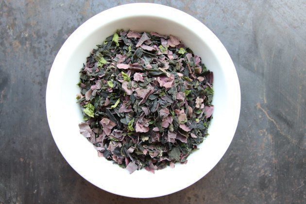 Mélange d'algues (nori, wakamé et laitue de mer)