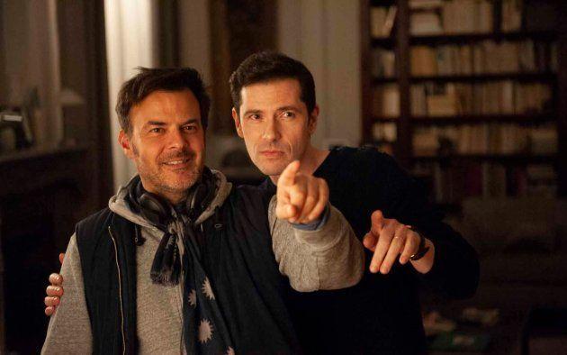 François Ozon en train de diriger Melvil Poupaud dans le rôle d'Alexandre