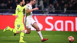 Sans Fekir, Lyon résiste au Barça en 8es de finale aller de Ligue des