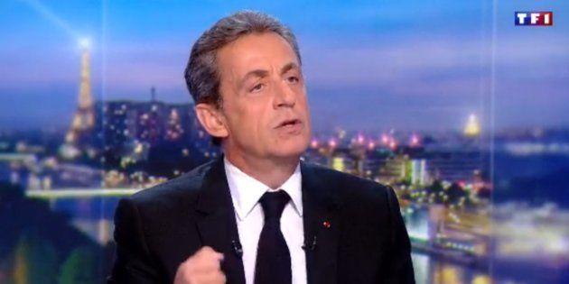 Nicolas Sarkozy au 20H de