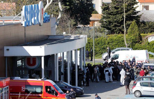 Trèbes: Prise d'otages dans un supermarché près de Carcassonne, l'auteur se revendiquant de Daech