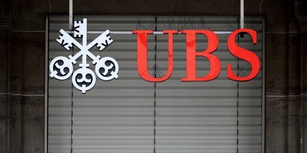 Fraude fiscale: la banque UBS condamnée à 3,7 milliards d'euros d'amende (Photo d'illustration prise...