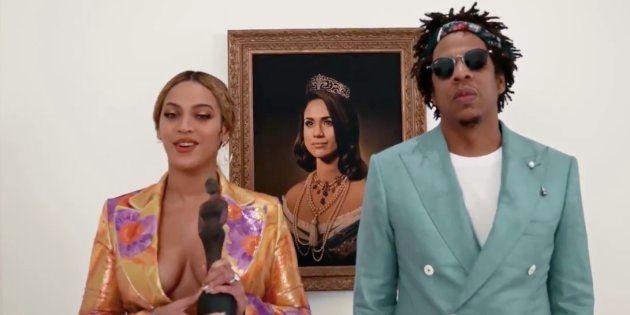 Aux Brit Awards 2019, Beyoncé et Jay-Z se