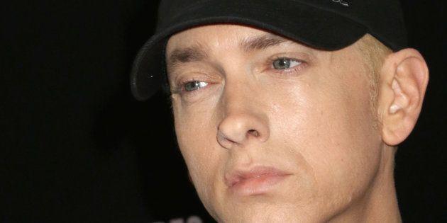 Eminem lors de l'avant-première du
