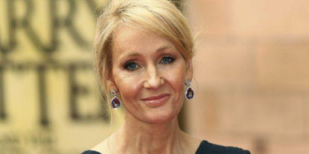 JK Rowling ne semble pas apprécier le Président des