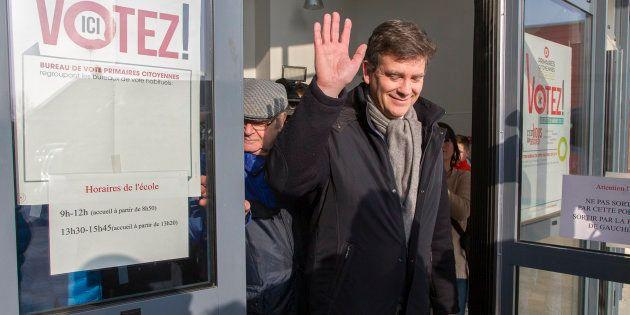 Arnaud Montebourg soutient localement les candidats aux législatives qui l'ont soutenu à la