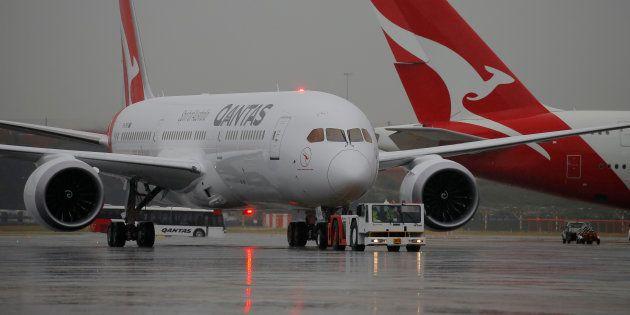 Premier vol direct sans escale entre l'Australie et