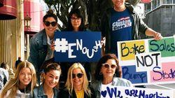 Ces stars américaines ont aussi répondu à l'appel des jeunes pour lutter contre les