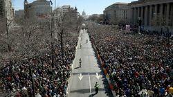 Plus d'un million de personnes dans les rues américaines contre les armes à