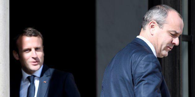Emmanuel Macron et Laurent Berger (ici à l'Élysée en mai 2017) s'accrochent sur l'échec de la réforme...