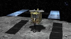 Une sonde japonaise a réussi à envoyer un projectile sur un astéroïde pour en récolter des