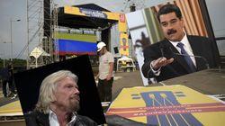 Branson contre Maduro, pro et anti-gouvernement s'affrontent par concerts interposés au