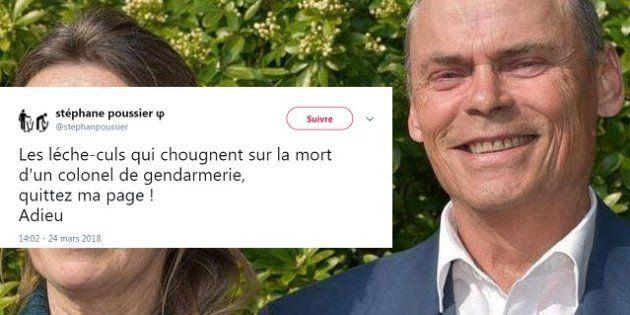 Garde à vue pour Stéphane Poussier, l'ex-Insoumis qui se félicitait de la mort du gendarme Arnaud
