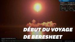 Les images du lancement de la première sonde lunaire