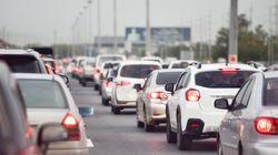 Beaucoup de monde sur les routes pour les nouveaux départs en
