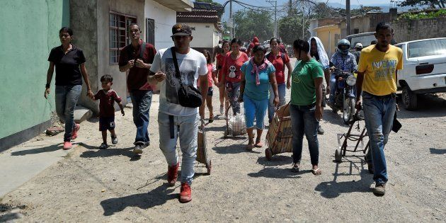 En Colombie, dont ici à Villa Del Rosario, il y aurait plus d'un million de réfugiés en provenance du