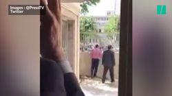 Les images des attaques à Téhéran, vues des réseaux