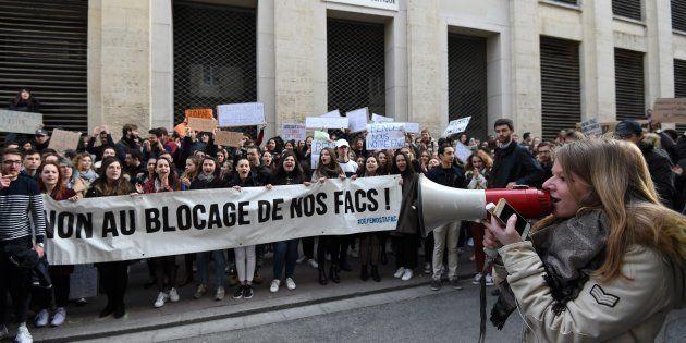 À la fac de droit de Montpellier, les étudiants pro et anti-blocage se font