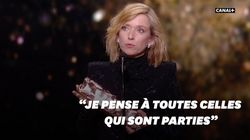 Léa Drucker, César de la meilleure actrice, s'adresse aux femmes victimes de