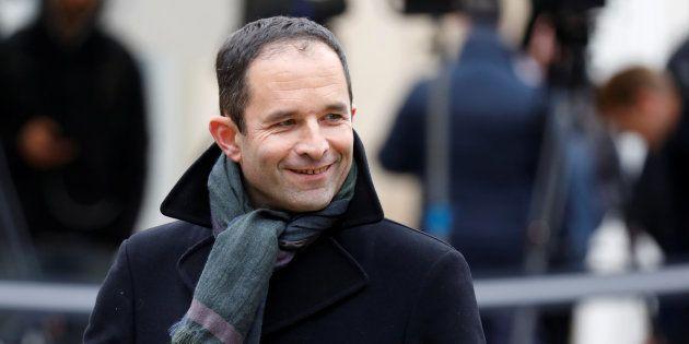 Benoit Hamon, ici lors d'une rencontre à Matignon début décembre, a constaté qu'aucun parti de gauche...