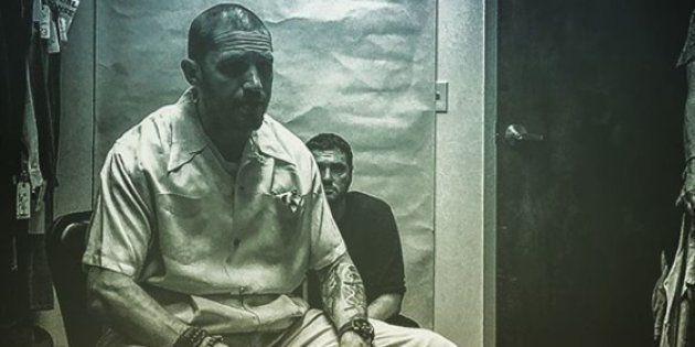 L'acteur britannique Tom Hardy a révélé sur son compte Instagram des photos inédites des coulisses