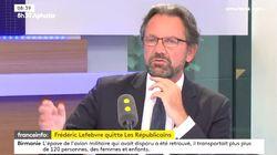 Lefebvre quitte Les Républicains et accuse Sarkozy de l'avoir menacé dans la loge de Carla