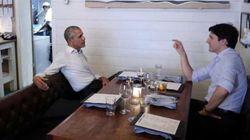 Le tête à tête de Justin Trudeau et Barack Obama, les deux rois de la