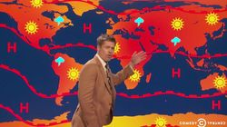Brad Pitt présente la météo qui nous attend... à cause de
