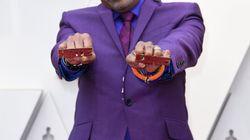 Le détail de la tenue de Spike Lee en hommage à Prince aux