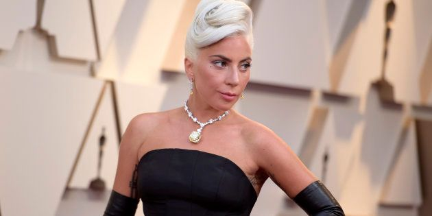 Lady Gaga, à son arrivée aux Oscars