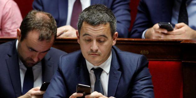Le ministre des Comptes publics Gérald Darmanin a démenti un confidentiel
