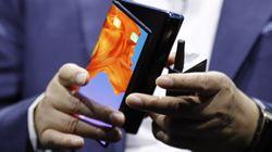 Après Samsung, Huawei dévoile à son tour un smartphone pliable hors de