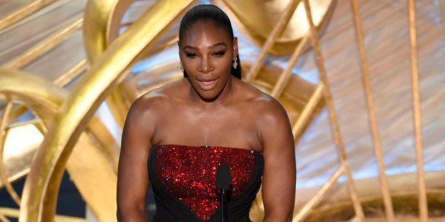 Serena Williams est apparue une seconde fois aux Oscars pour présenter la nouvelle publicité de
