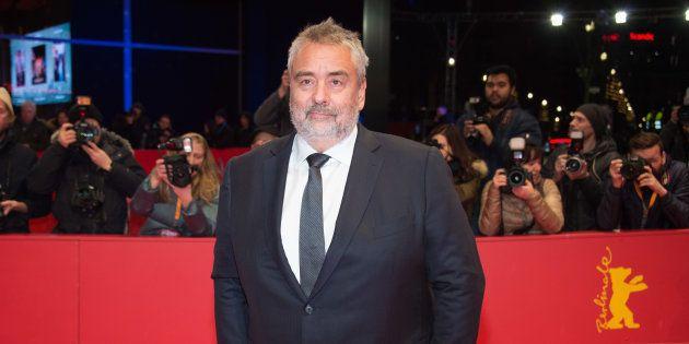 Luc Besson en février 2018 à Berlin pour la