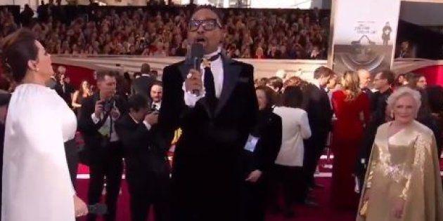 La réaction de Glenn Close sur le tapis rouge des Oscars 2019 n'est pas passée
