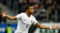 Regardez les 4 buts de Russie-France (dont le premier doublé de Mbappé en