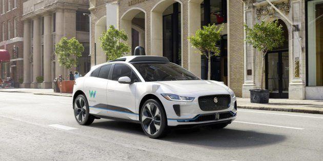 Jaguar va créer le futur taxi haut de gamme et 100% autonome de