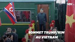Les images de l'arrivée de Kim Jong Un au Vietnam, avant sa rencontre avec