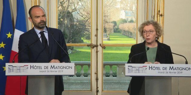 Édouard Philippe et Muriel Pénicaud ont organisé une conférence de presse ce mardi pour présenter le...