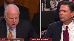 John McCain a une drôle d'excuse pour expliquer son état à l'audition de James