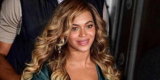 Beyoncé à New York le 14 septembre