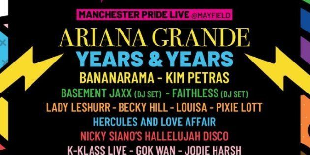 Ariana Grande est en tête d'affiche du prochain Manchester Pride