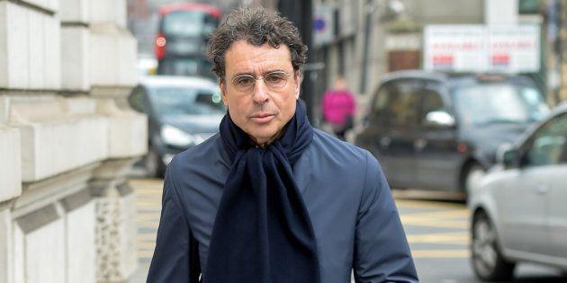 Alexandre Djouhri, lors d'une audience à Londres en février