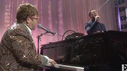 Elton John et Taron Egerton réunis en chanson avant le film
