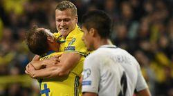 Regardez l'incroyable but de la Suède à la dernière seconde qui a été fatal pour les