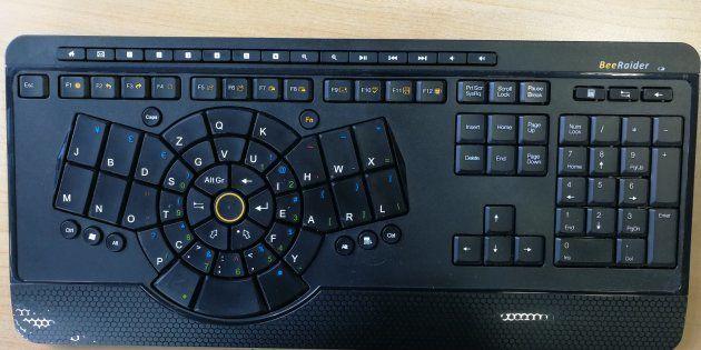 On a testé Beeraider, le clavier qui veut changer votre façon de
