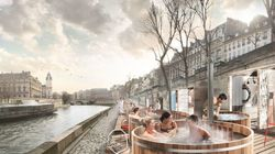 Les bains chauds d'Ikea le long de la Seine fâchent les