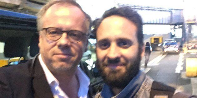 Le journaliste français Mathias Depardon de retour en